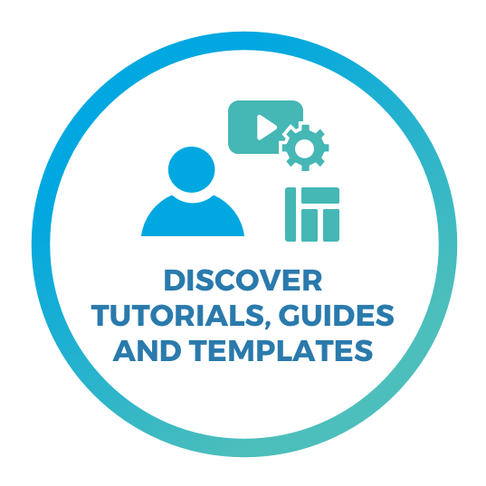 Step 2: Discover tutorials, guides and templates